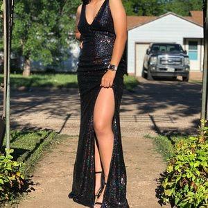 A glitter dress!!!